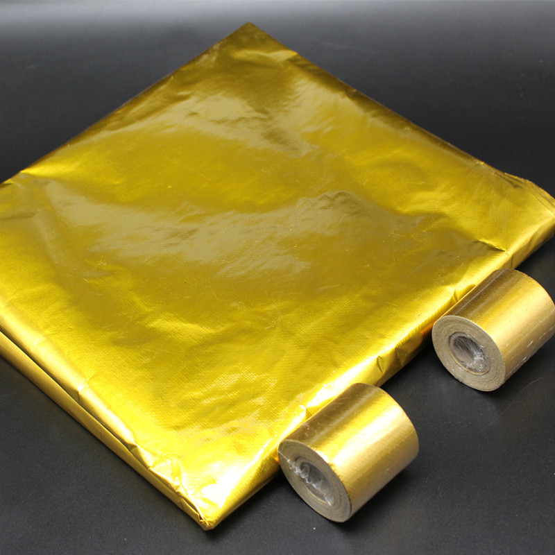 Heat Reflective Sheet Gold