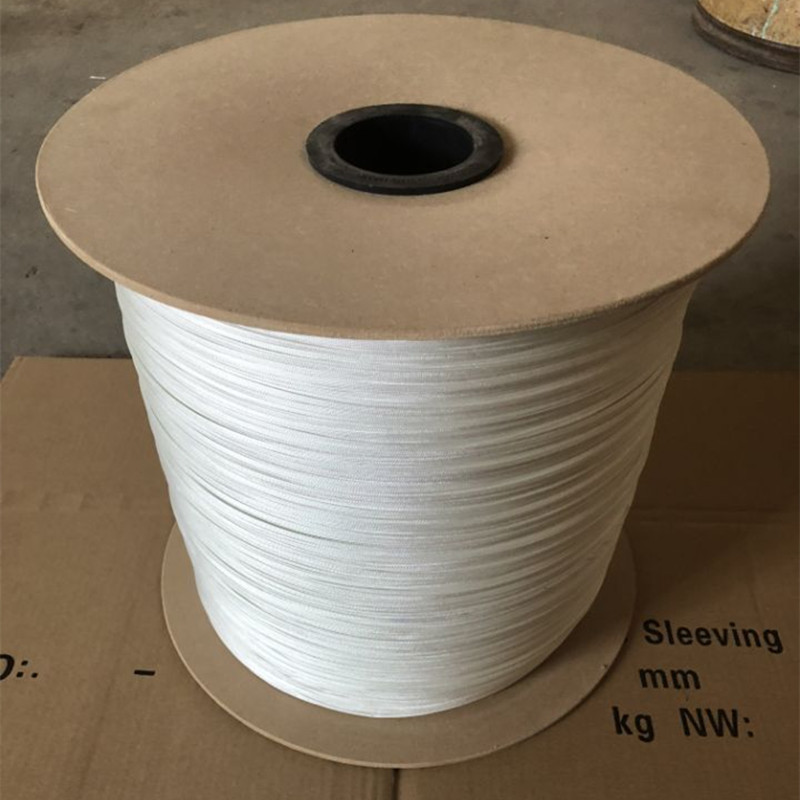 GLASS FIBRE BRAIDED SLEEVES