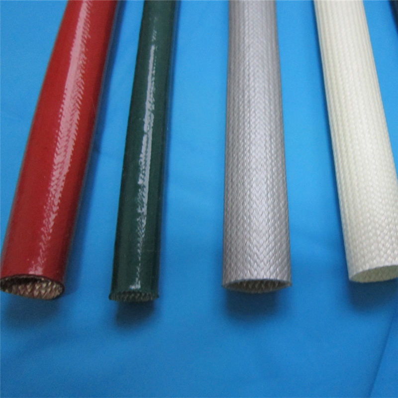 Flame Retardant Silicone Coated Fiberglass Sleeving
