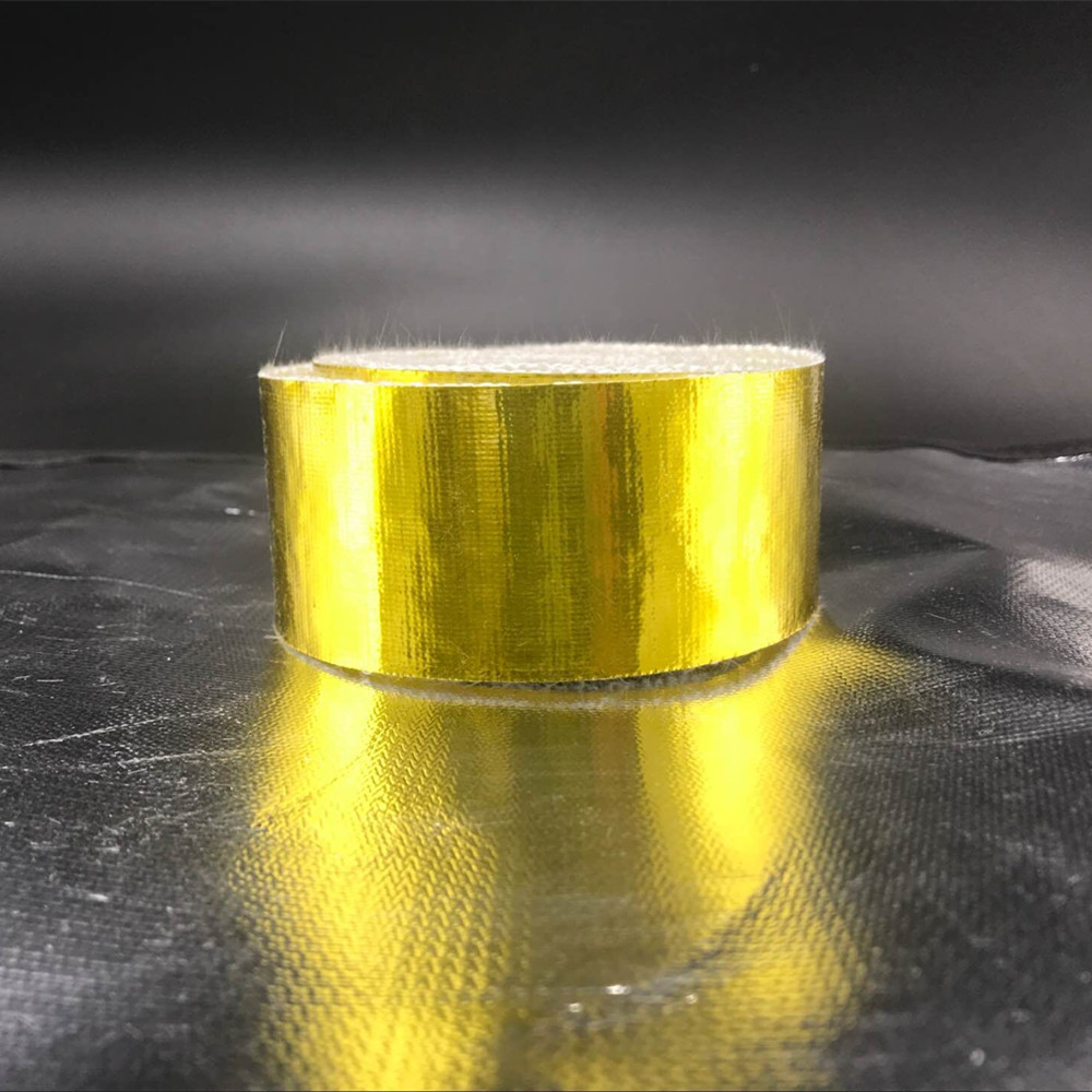 Gold Exhaust header Wrap
