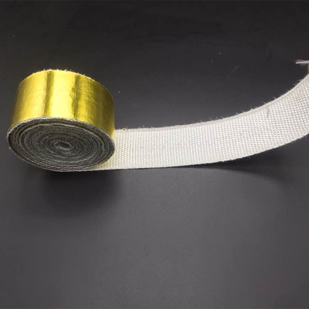 Gold Exhaust insulating Wrap