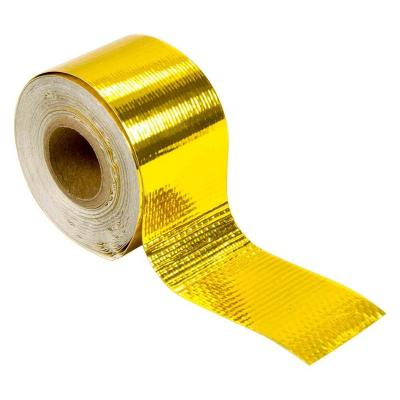 heat reflective tape gold